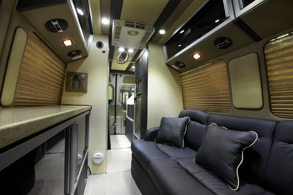 It Is Designed To Be A Full Time RV With Much More Storage Space And Very Open Concept Living Area This Model Can Only Purchased Through Mercedes
